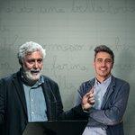 Image for the Tweet beginning: Pif e Francesco Piccolo al