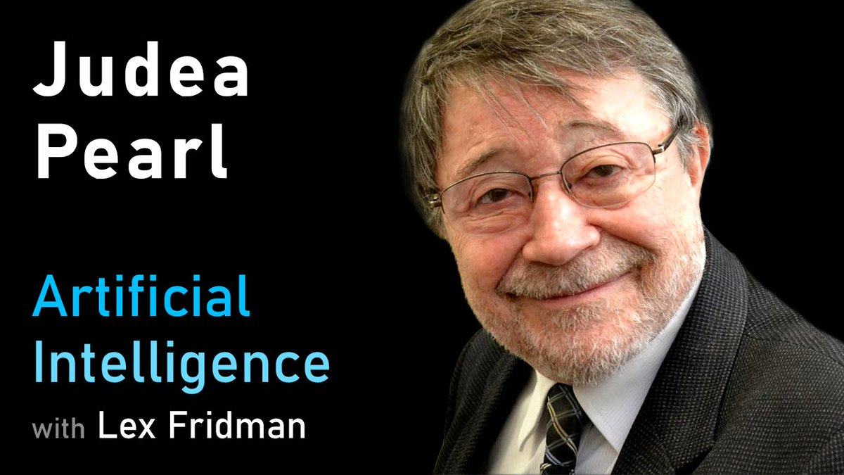 Heres my conversation with Judea Pearl, winner of the Turing Award and one of the seminal figures in the field of AI. His ideas on causality are at the core of what we likely must understand and develop in order to build truly intelligent systems: youtube.com/watch?v=pEBI0v…