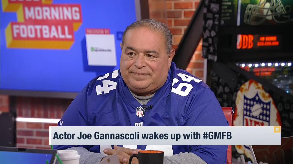 What was it like playing poker with @Giants legend @LT_56 on The Sopranos? Actor @JoeRGannascoli swung by to tell the @gmfb crew!