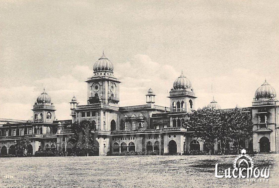लखनऊ विश्वविद्यालय #RarePic #UniversityOfLucknow #LucknowUniversity #BadshahBagh #SaveOurHeritage #Lucknow