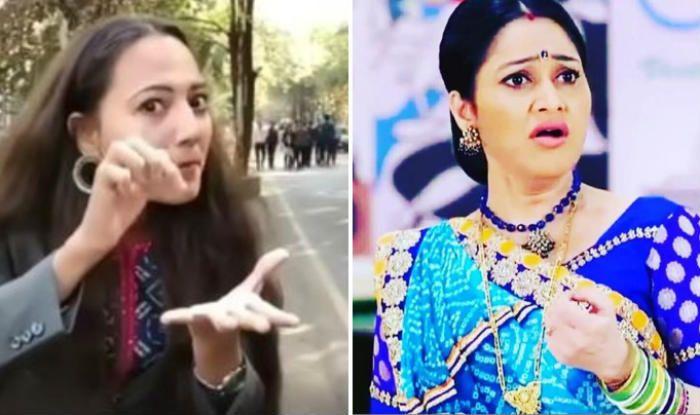 College Girl Mimics Dayaben From Tarak Mehta Ka Ooltah Chashmah, Video Goes Viral – Watch - Girl Mimics Dayaben from Tarak Mehta Ka Ooltah Chashmah in THIS Viral video, It Will Win Your Heart - Watch.  #Dayaben #DishaVakani #TarakMehtaKaOoltahChashmah https://www.binindia.com/college-girl-mimics-dayaben-from-tarak-mehta-ka-ooltah-chashmah-video-goes-viral-watch/…pic.twitter.com/BctEqgnP8X