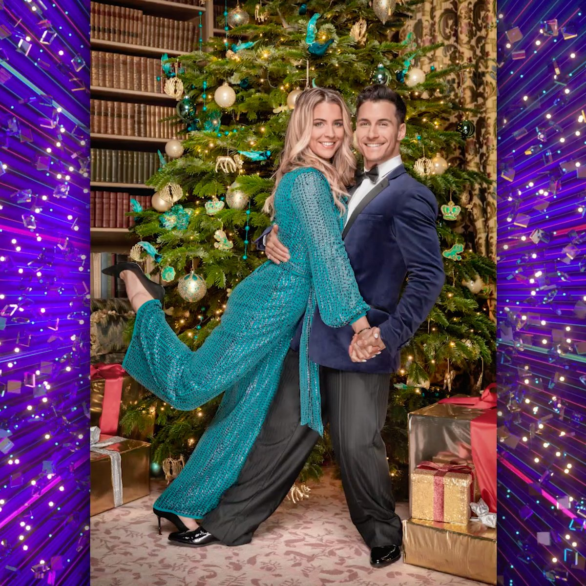 FIRST LOOK: Dont our #Strictly Christmas couples look fab-yule-lous? 🎄