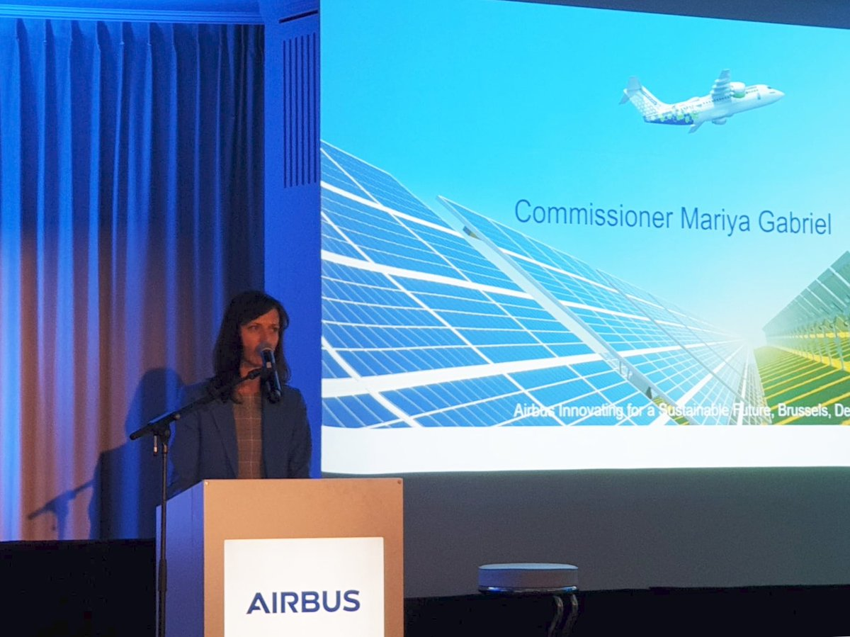 Great conference focussed on #sustainability: ambition and realism are both needed while guaranteeing a level playing field in the aviation sector. @Airbus you are already a success story, you have the potential to fly even higher. https://t.co/G9ysxu6z5u