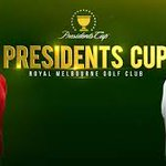 Image for the Tweet beginning: The Presidents Cup starts today!