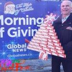 Image for the Tweet beginning: Producer Ken Goosen donates 160