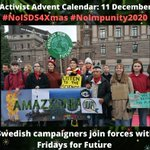 Image for the Tweet beginning: #NoISDS4Xmas calendar 11 Dec: Swedish