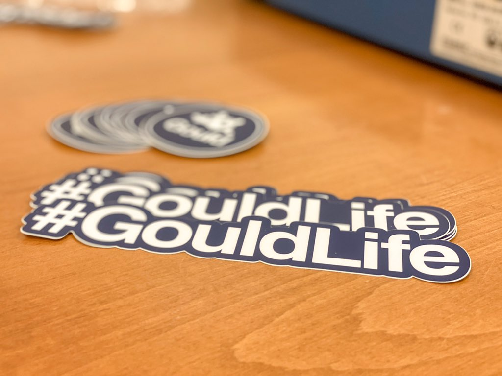 @stickermule We love our @stickermule swag! #GouldLife