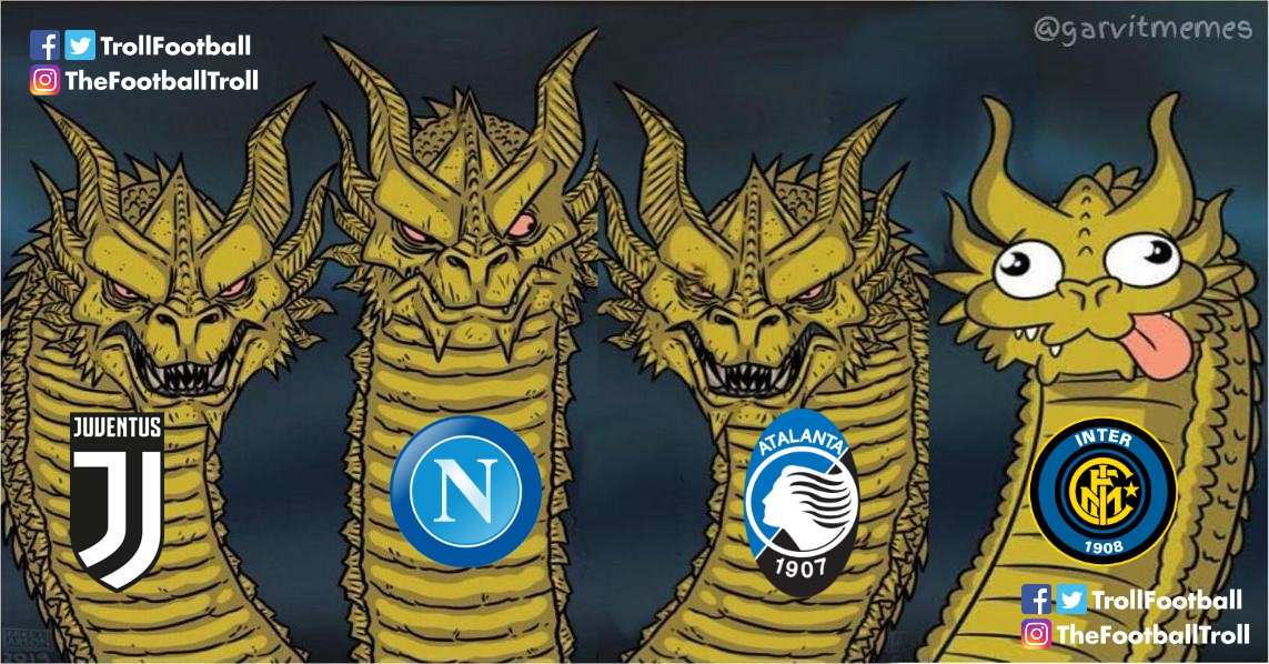 Serie A clubs in Champions League