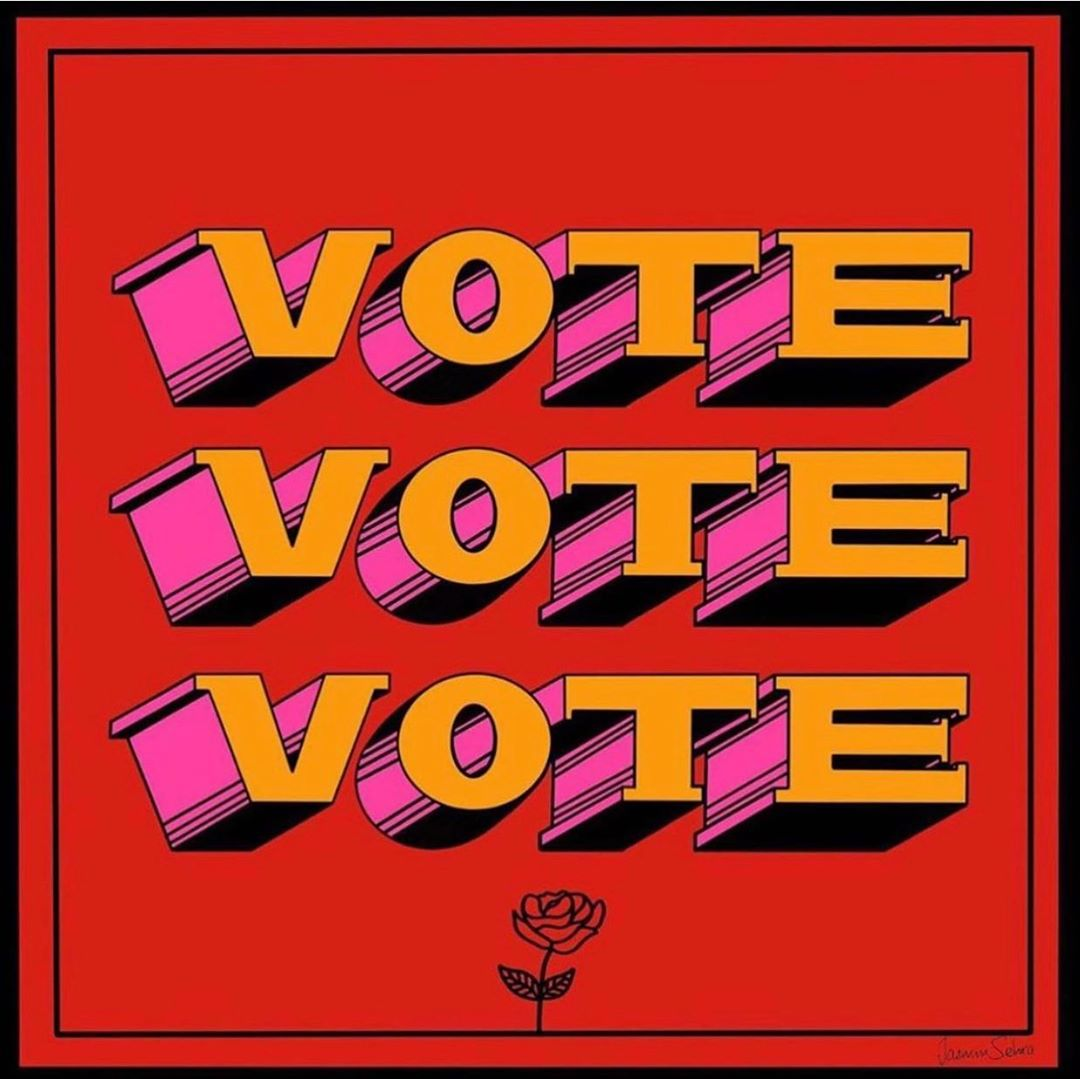 VOTE VOTE VOTE!! MOST IMPORTANT ELECTION IN THE UK IS TOMORROW! PLEASE GET OUT, VOTE and in the nicest way possible...please don't vote for the fucking tories ❤️ #votelabour