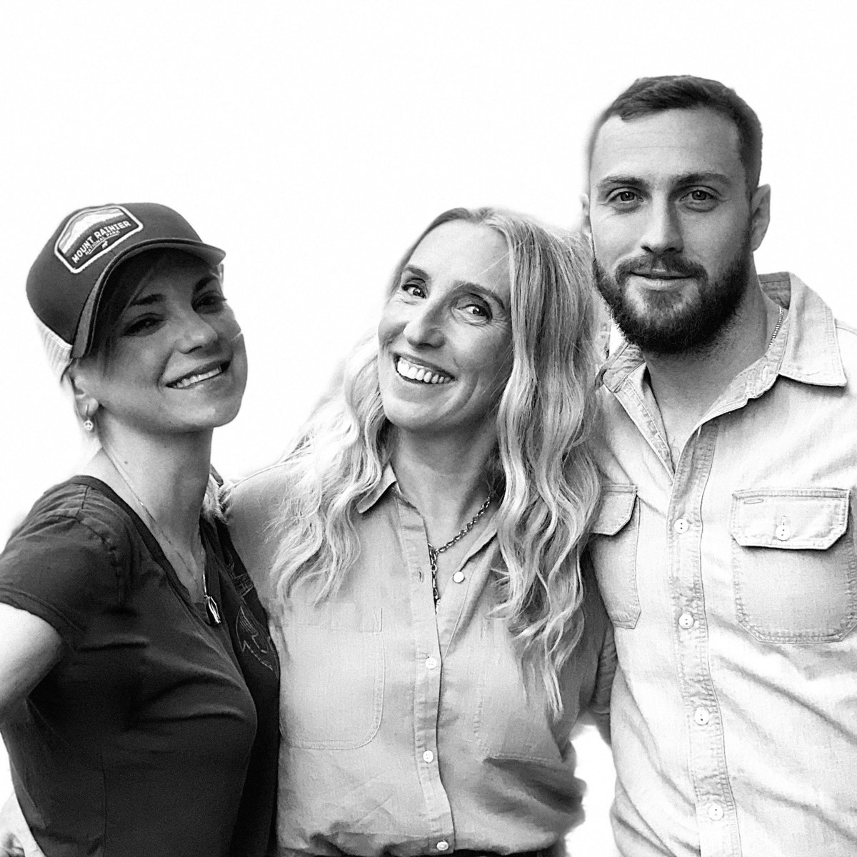 #SamTaylorJohnson and #AaronTaylorJohnson are on @Unqualified this week!