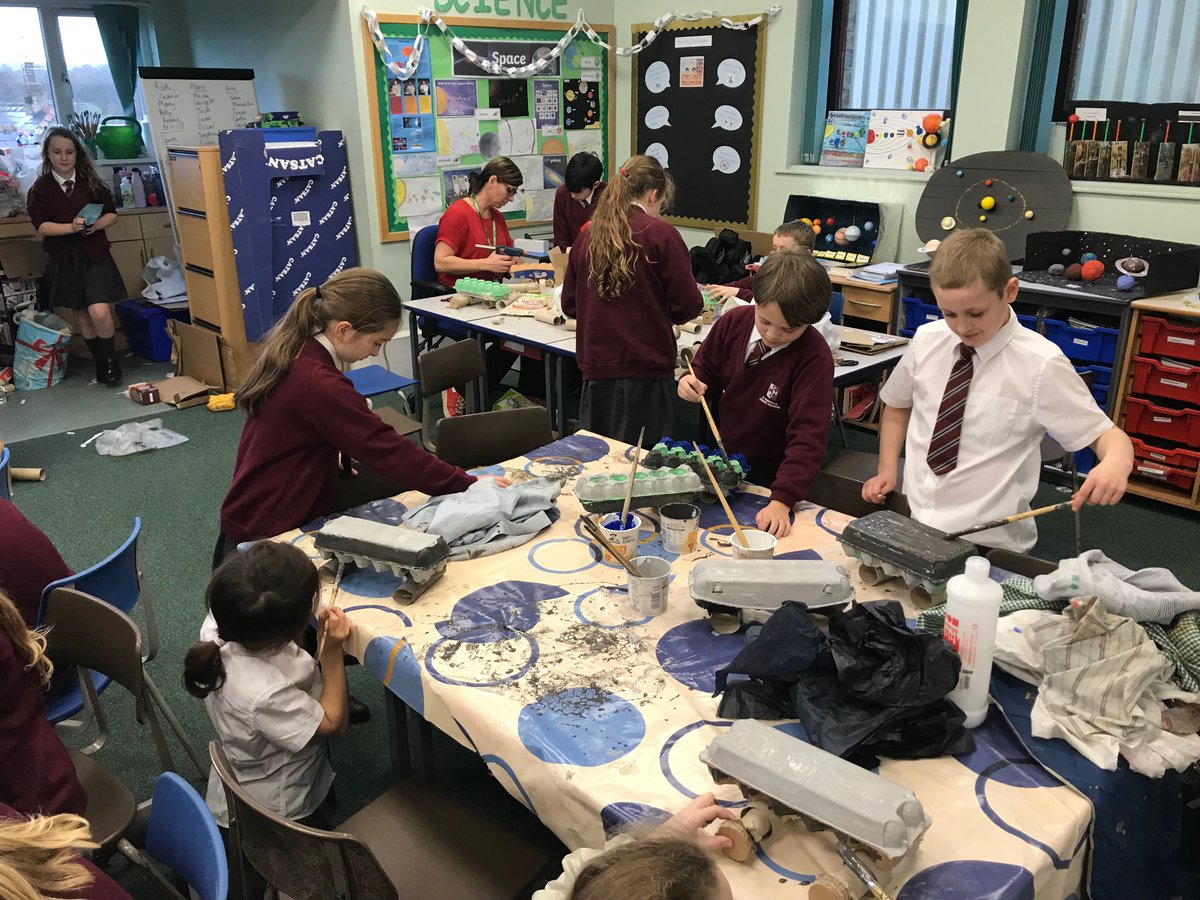 Great to walk into Year 5's DT learning - making Moon Buggies.  Engineers of the future!