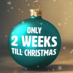 Image for the Tweet beginning: Only 2 weeks till Christmas!