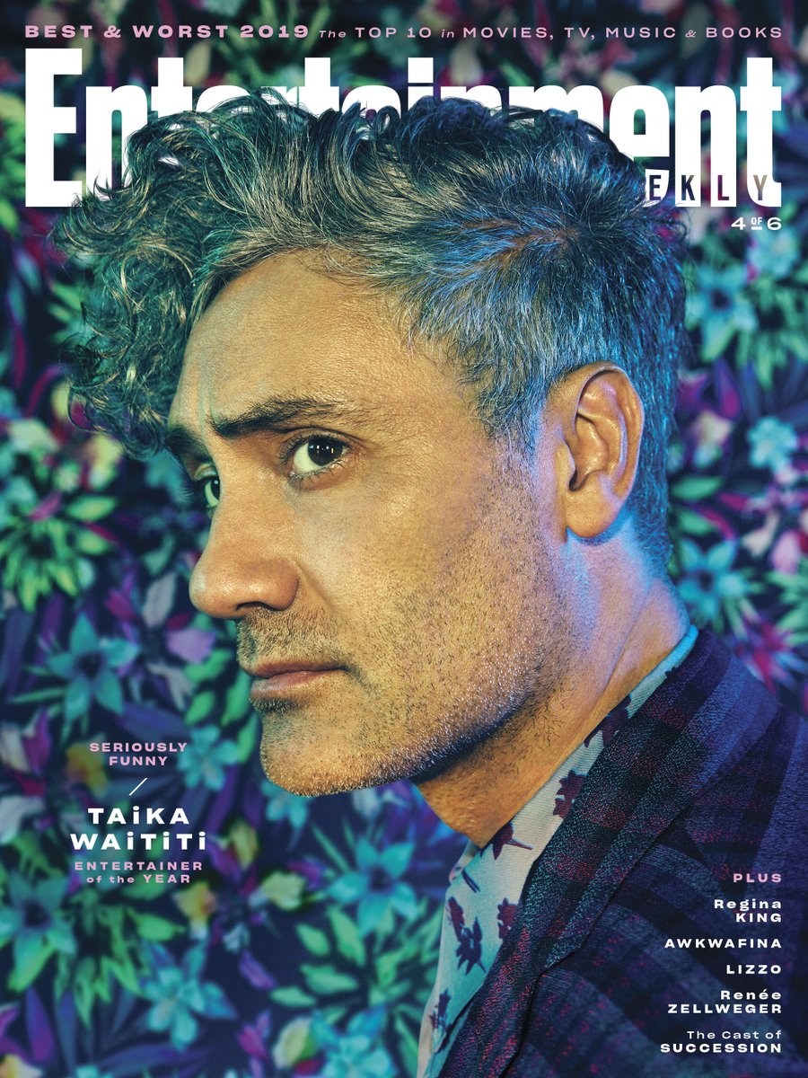@awkwafina @thefarewell @missollosi @JudyTheFilm @TimStack1979 @ReginaKing @HBO @SarahARodman The multihyphenate @TaikaWaititi has lampooned vampires and superheroes. Now he cements his stardom in @jojorabbitmovie, a lauded satire he both headlines and helms. No wonder he's one of our 2019 #EntertainersOfTheYear: share.ew.com/nS4S61a Story by @devancoggan