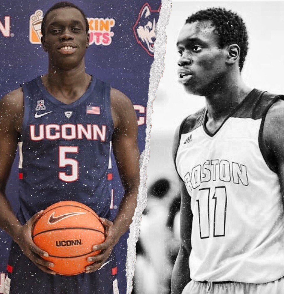 UConn's Akok Akok praised by Andre Drummond after breakout vs. Indiana