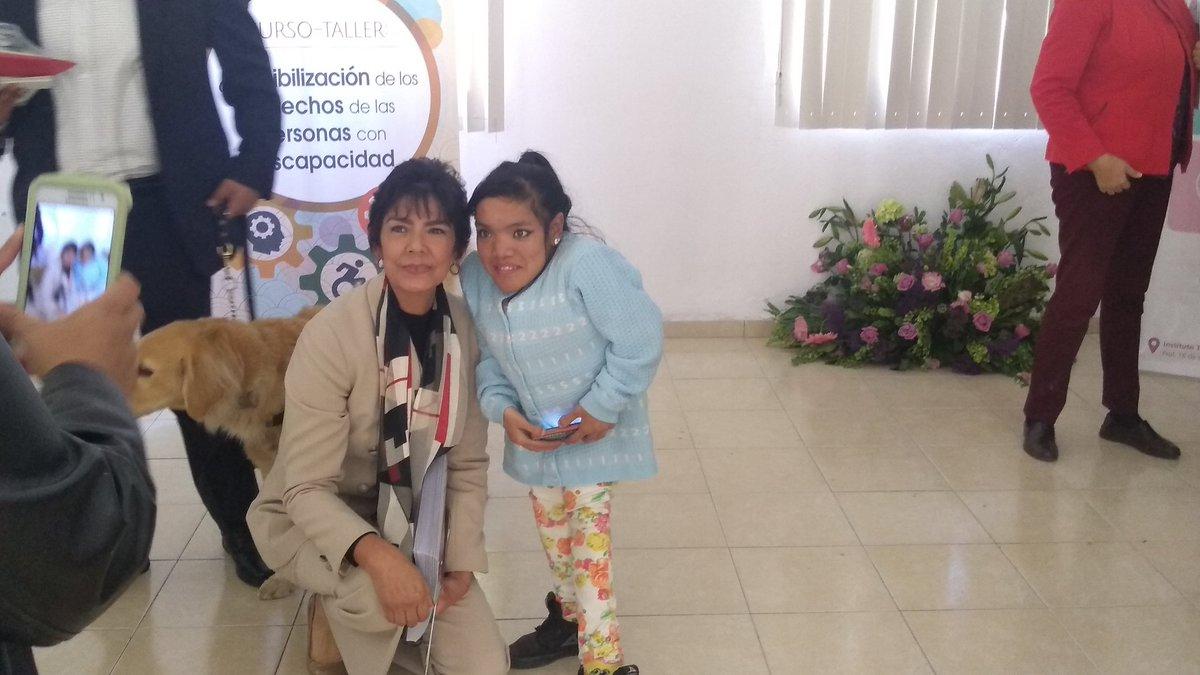 Fue un  gusto coincidir en el curso taller sobre derechos político electorales de las personas con discapacidad.