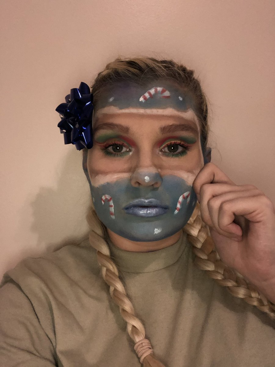 I tried a look ? Should i post to IG ? Inspiration is from IG @miraxglam & @mcdrew #makeuplook #experiment #creativemakeup #imapresent<br>http://pic.twitter.com/LrAtqdBN2J