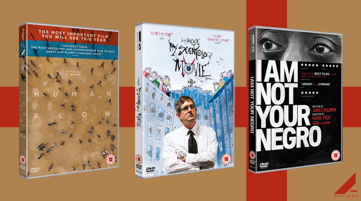 Ideal stocking fillers for the the documentary lover in your life 📽️ RT for your chance to #win! #Advent #Competition