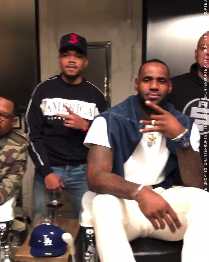 Call 'em out as you see em! Next episode of #TheShopHBO is coming this Saturday 12.14 at 10 PM. 💈💈💈  @kingjames @chancetherapper @realmartymar #WillSmith @pr_RWTW @mavcarter @cc_sabathia @HBO