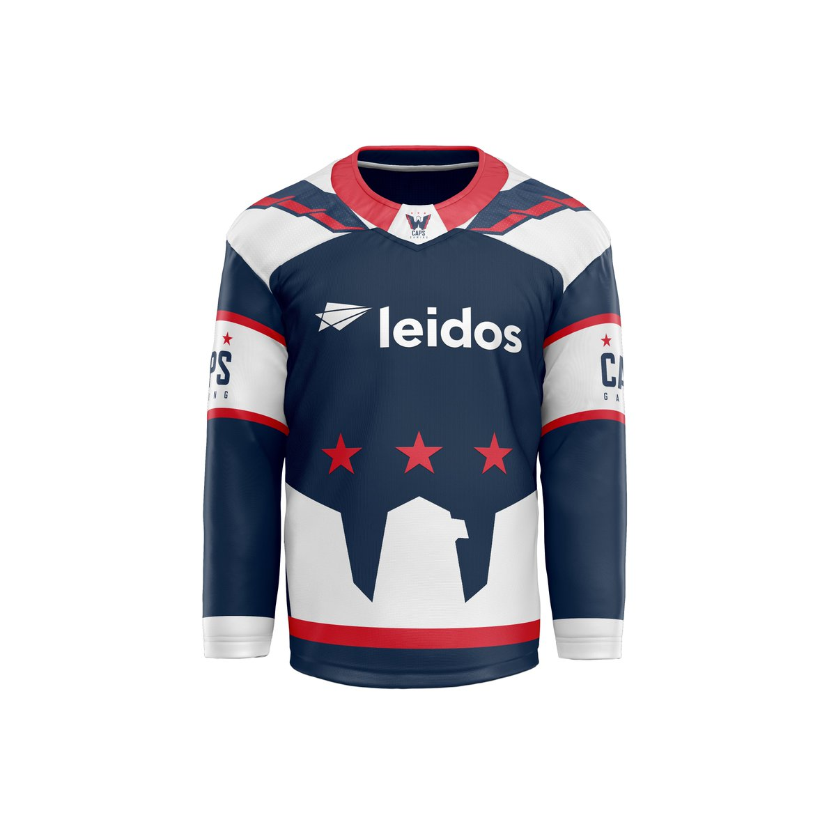 Been messing around with some @capsgaming jersey concepts. the first one I went for a more traditional look, but for the other I wanted to be a little more creative. I hope you guys enjoy, and let me know what you think in the comments. #ALLCAPS @LeidosInc