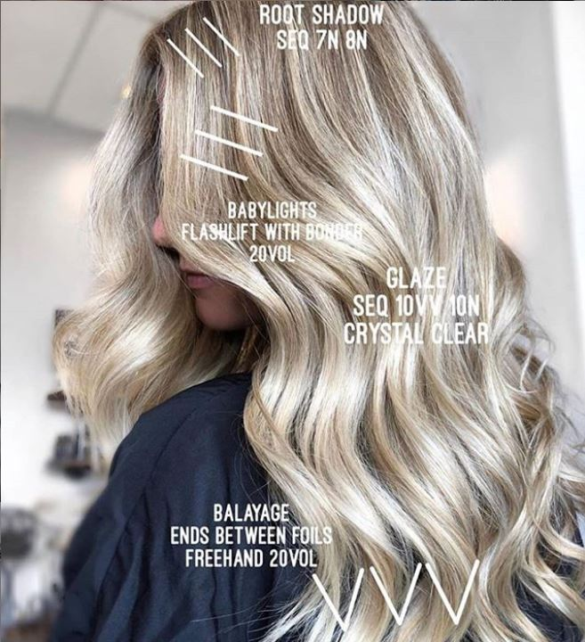Ready for a Shades EQ Gloss Level 010s myth buster from @ colorbymarina (IG) who created this beautiful blonde? Head over to the Redken UK Facebook page ▶ Remember to use #ShadesEQ10 when sharing your shades 🖤#shadeseq #haircolor