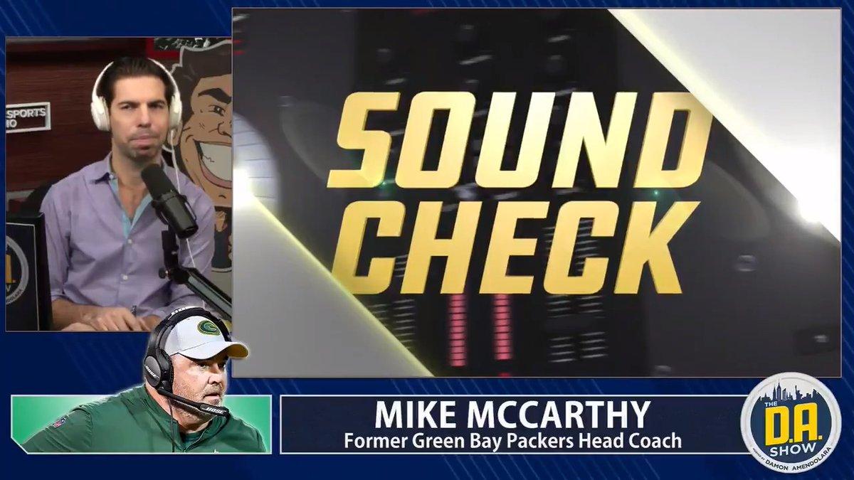 Mike McCarthy getting emotional seems melodramatic. (@DAonCBS)