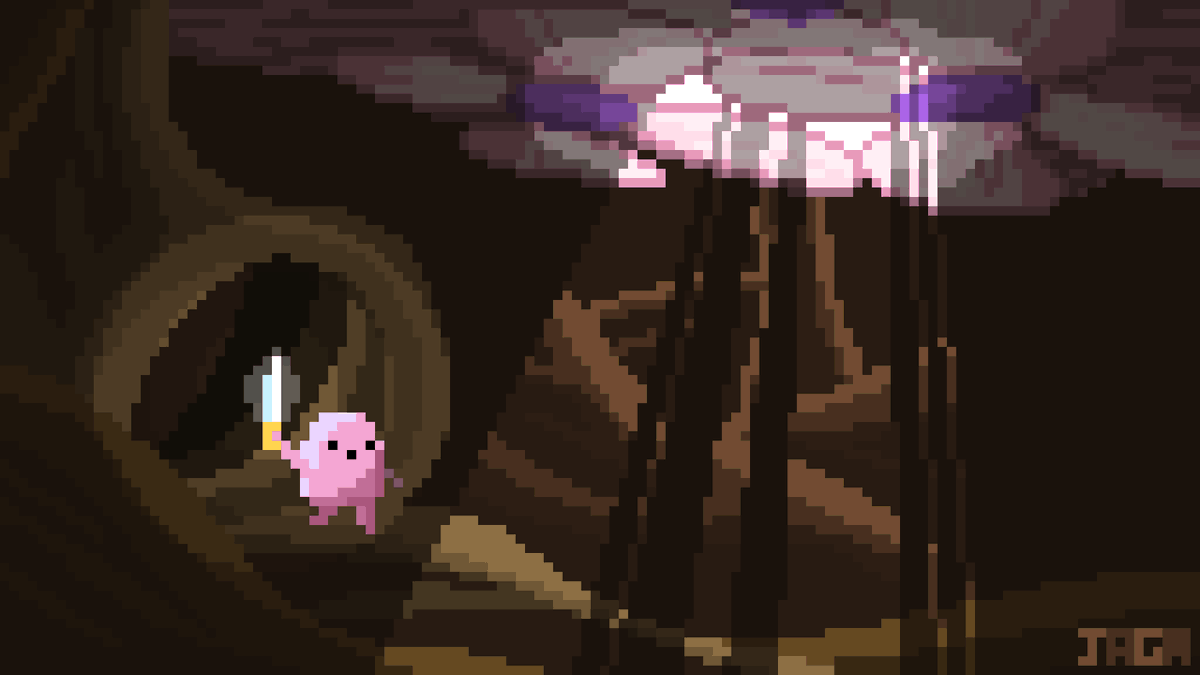 """Little Brother [167/283] - """"That spring, for the first time in many years, the willow tree was in bloom.""""  #adventuretime #pixelart"""