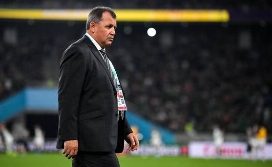 All Blacks appoint Steve Hansens assistant Ian Foster as head coach - but only on two-year deal ow.ly/CSao50xxGvu