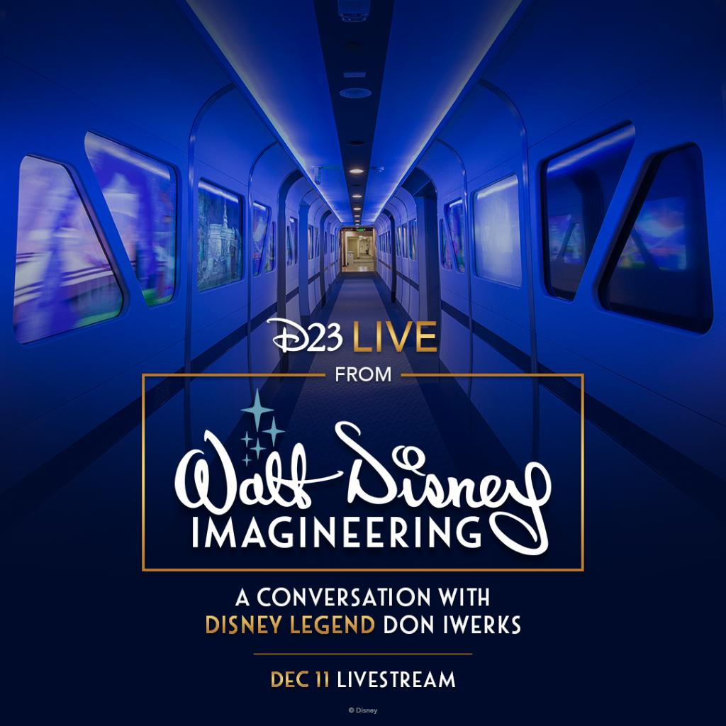 Take a peek inside the magic! @DisneyD23, together with Walt Disney Imagineering, presents a conversation with Disney Legend Don Iwerks. Watch it live today at 2:30 p.m. PT:
