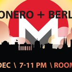 Image for the Tweet beginning: Berlin + #Blockchain = Monero