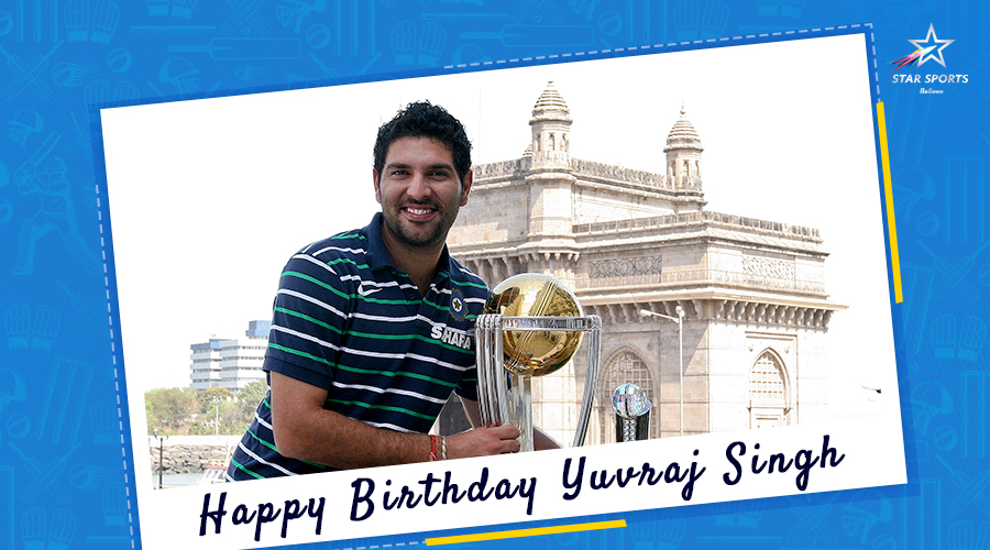 If hitting a six is an art, then @YUVSTRONG12 is Picasso. Period.   Here's wishing the stylish southpaw all the good luck on his special day!   #HappyBirthdayYuvi<br>http://pic.twitter.com/SYJQ3sw3m0