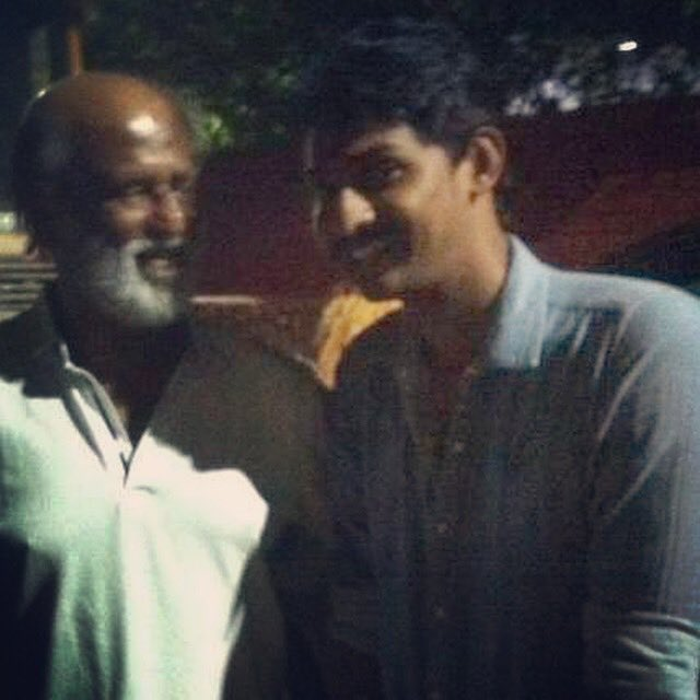 Happy birthday to my Thalaivar   look at the way he is looking at me   inspiring forever  1000 things to learn from him #ThalaivarBirthday<br>http://pic.twitter.com/qXv9rdBV7n