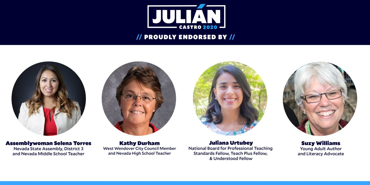 Throughout my travels in Nevada, I've been inspired by the support I've received in big cities and small towns.  Today I'm grateful to receive the endorsement of outstanding leaders and public servant from the Silver State.<br>http://pic.twitter.com/eE96I0dQtc