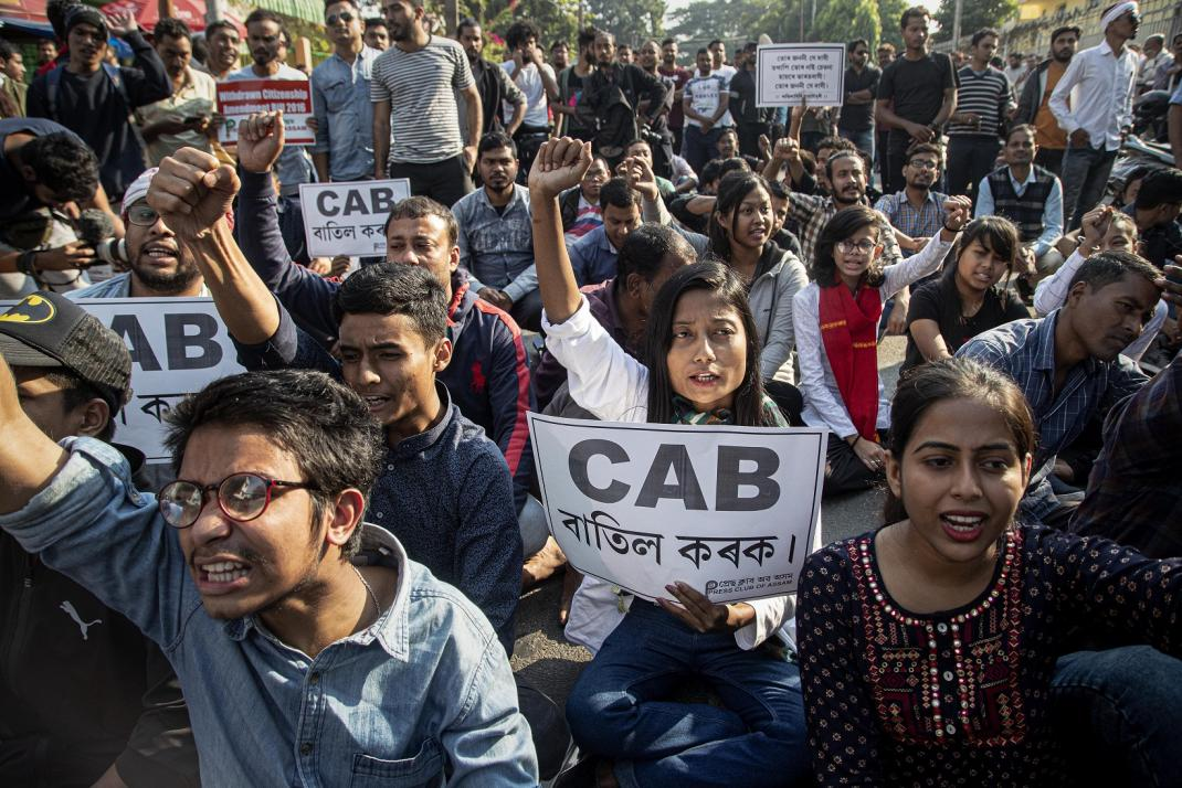 The Indian government's claim that a new citizenship bill aims to protect religious minorities rings hollow by excluding Ahmadiyya from Pakistan and Rohingya from Myanmar. It speaks of refuge and sanctuary but illegally discriminates on religious grounds. trib.al/uDdQc9I