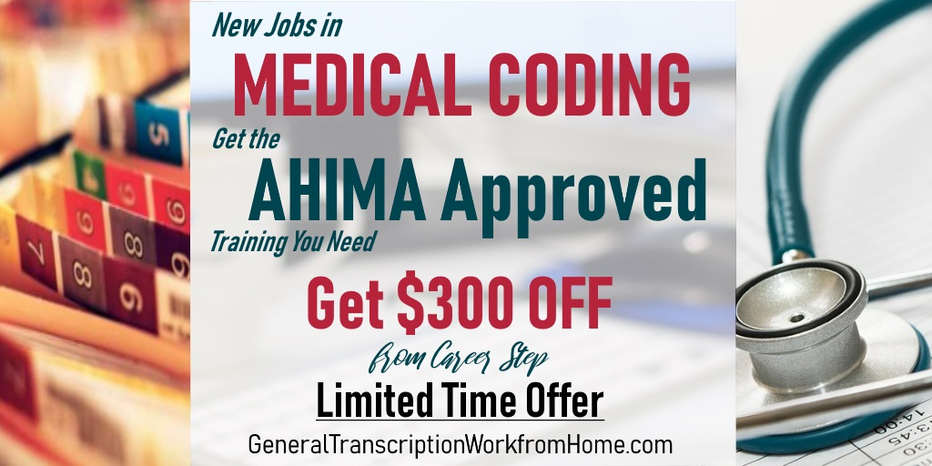 Career Step is Offering New Students $300 off When Enrolling in Medical Billing / Medical Coding by 12/11 #medicalbilling #medicalcoding  #MT #aff https://bit.ly/2XcCFxF
