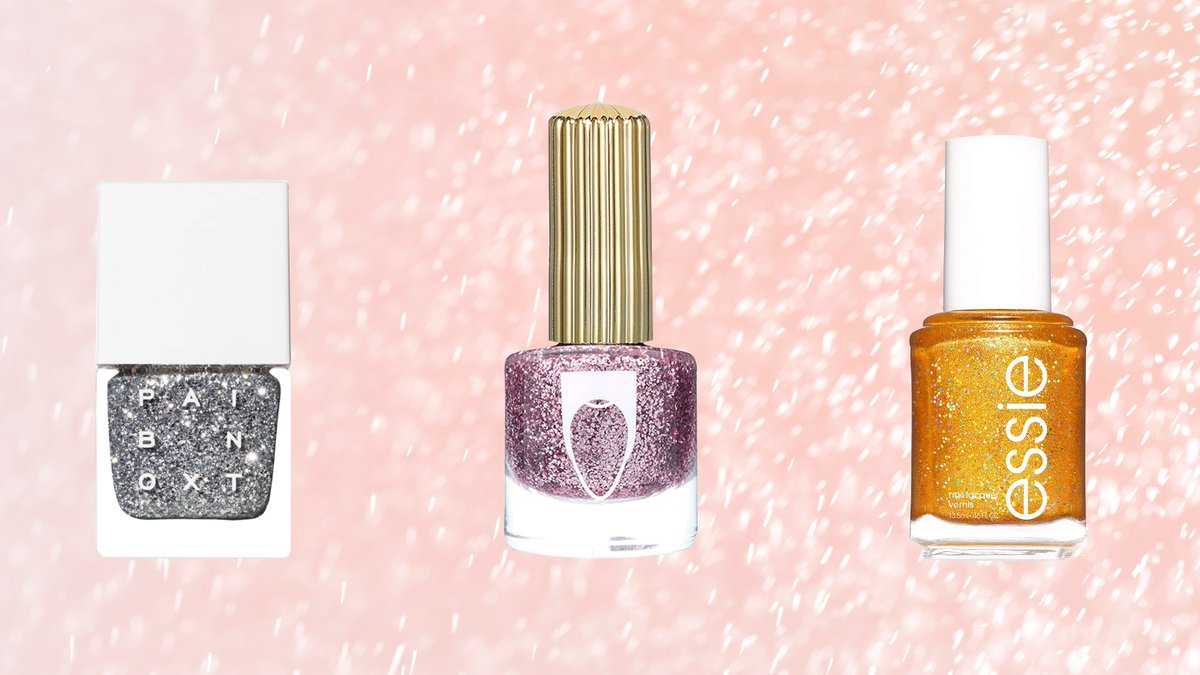 The Best Glitter Nail Polishes of 2019 - Editor Reviews. #beautyisnatural #makeup