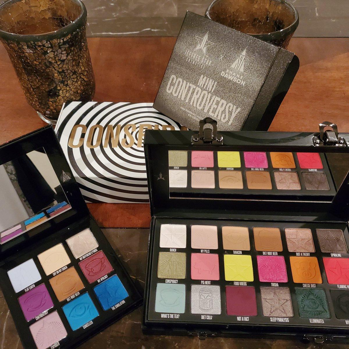 FINALLY!!! After USPS lost my package, it here!#jeffreestarcosmetics #conspiracy #conspiracypalette #makeup #shanedawson #jeffreestar #JSC
