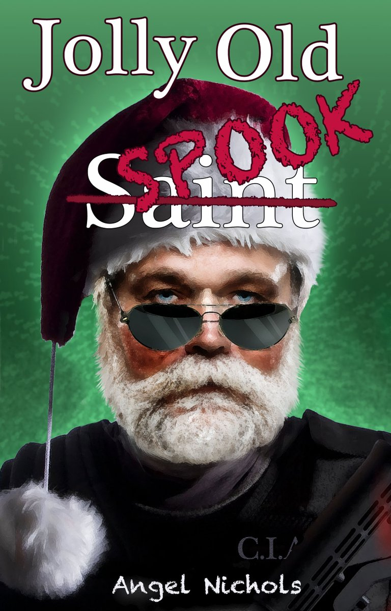 NOW in Audio! Jolly Old Spook written by @Angel_Nichols and narrated by @danielmccolly http://amzn.to/2D2i0Sn or http://adbl.co/2BG8mZr & http://apple.co/2BIK9l6 #Christmas #Humor #SantaClaus #audiobook #iTunes #Kindle #Kobo #Nook #BookBoost #indiebooksblast #SNRTG #IARTG #RT