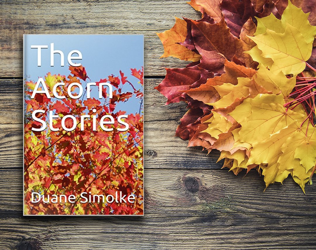 """""""Wry little tales of intertwining lives."""" The Acorn Stories, #Texas fiction by #Texan author @DuaneSimolke > http://bit.ly/2NIcfkX #WednesdayMotivation #Holidays #GiftIdeas #SmallTown #Humor #Nook #Mustread"""