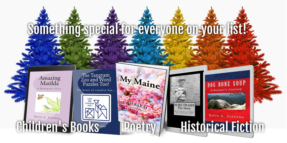 Treat yourself to a great read this season! 🎄 Historical fiction, poetry and so much more... Find something for everyone on your list.  5✰ #kidlit #historicalfiction #adventure #family #RRBC#ASMSG #homeschool #education #poetry #Maine #drama #holidaygifts