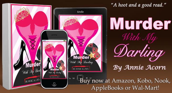 A murder solved by a beauty shop? MURDER WITH MY DARLING! http://amzn.to/1gSdFBz Curlers up! #Humor #Mystery #iTunes #Kobo #Nook #indiebooksblast #ASMSG #SNRTG #IARTG #authorRT