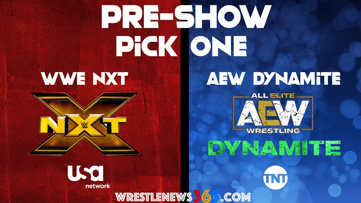 Week 11 of the Wednesday Night Wars is here!If you had to pick one show ONLY to watch live, which would it be?WWE NXT on the USA Network or AEW Dynamite on TNT?#WWE #WWENXT #AEW #AEWDynamite