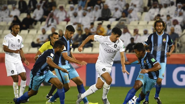 The final whistle has sounded & it's a 3-1 win for @AlsaddSC. Well done, you played with great passion tonight. To #HiengheneSport you fought valiantly but it wasn't to be. You did @OFCfootball proud 👏🏿. #ClubWC