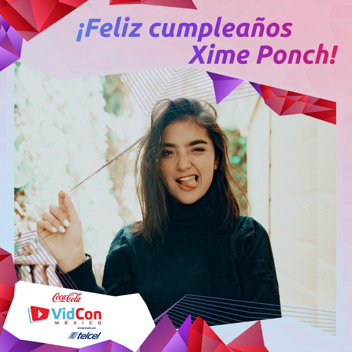 ¡Muchas felicidades @ximeponchof ! 🥳¿Ya le mandaron mucho cariño a la cumpleañera?¡Nos vemos pronto! #vidconmxready