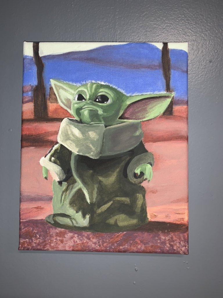 Z Ch A Twitter Baby Yoda Acrylic 8x10 Prints Coming Soon Starwars Mandalorian Painting Babyyoda Babyyodamemes Acrylic Acrylicpainting Starwarsfan Paintings Artist Https T Co Cwkl8vzlod