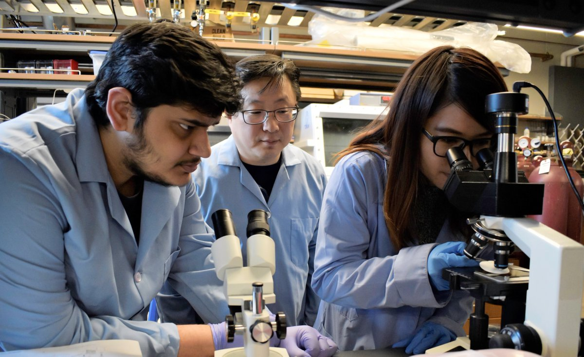 Clean water is key. @UIC_ChE Assistant Professor Sangil Kim and his lab are breaking new ground with their work on using 2D layered nanomaterials for water purification. Read about the research here: bit.ly/2PEQUbV