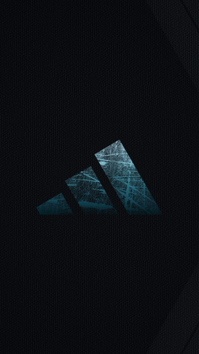 "3D IPhone Wallpaper On Twitter ""Adidas Logo IPhone X"