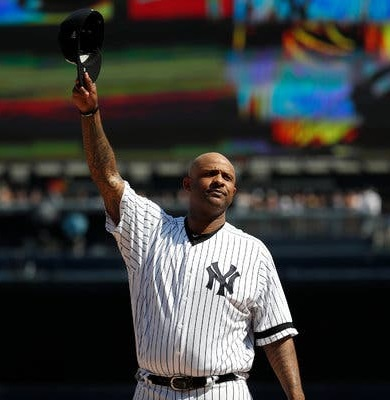 🚨🚨 @CC_Sabathia joins the show at 4 pm ET/ 1 PT to talk #gerritcole #yankees 🚨🚨 Nobody knows the pressure of pitching in pinstripes with a monster contract like #CC Tune in: radio.com/cbssportsradio… @CBSSportsNet @SiriusXM 206
