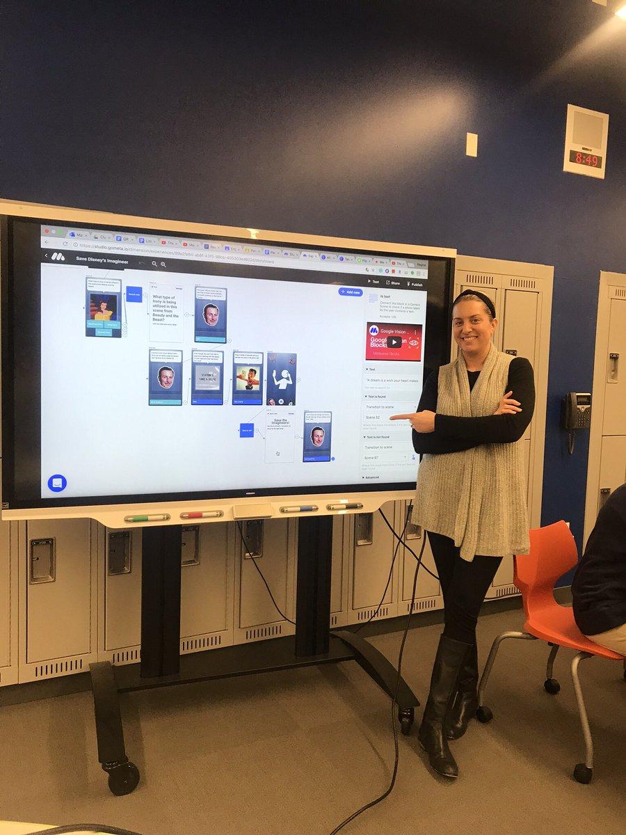 Just call her the coding queen  @mrs_pasq #stemela #NCTEvillage @metaverseapp <br>http://pic.twitter.com/XMGD5Mr5kG – à Diana C. Lobosco STEM Academy
