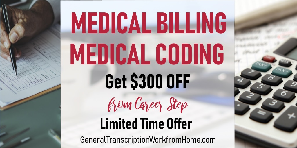 Enroll in Medical Billing / Medical Coding with Career Step by 12/11 and get $300 off #medicalbilling #medicalcoding  #MT #aff https://bit.ly/2XcCFxF