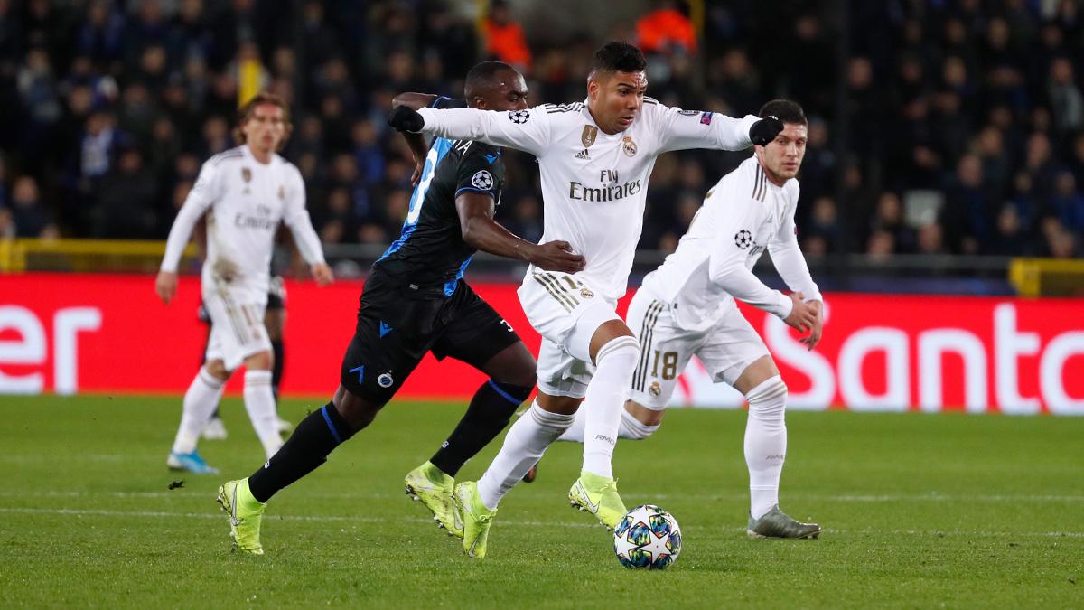 ريال مدريد يتفوق على كلوب بروج في دوري أبطال أوروبا